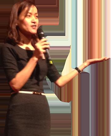 Cynthia Zhai Corporate Speaking