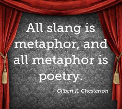 metaphers usually used in poem